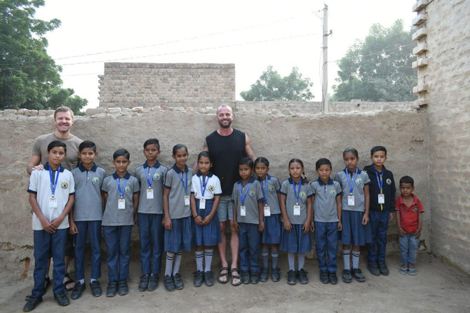 Visit to Rajasthan to meet with the children