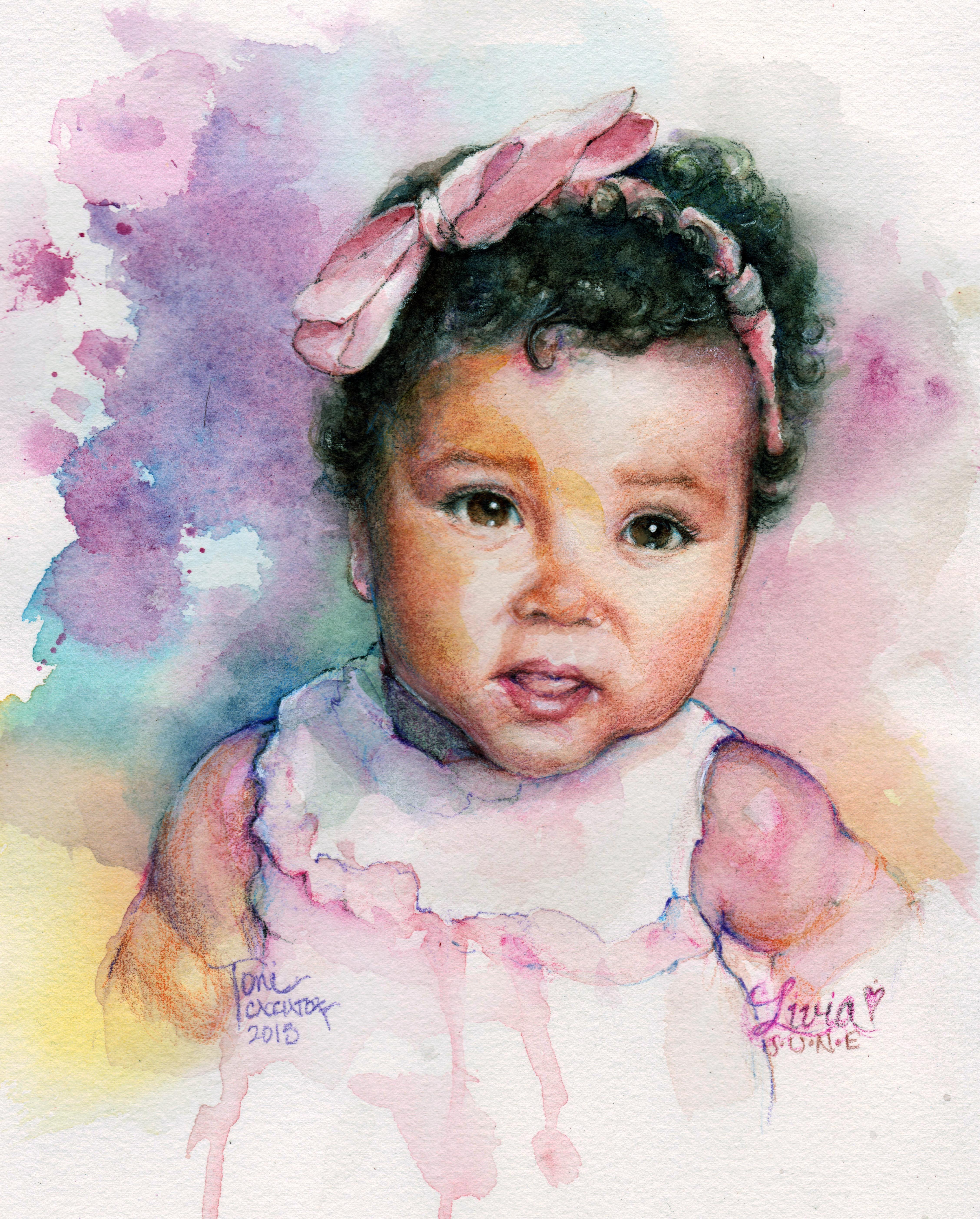 Livia June @ 8 months