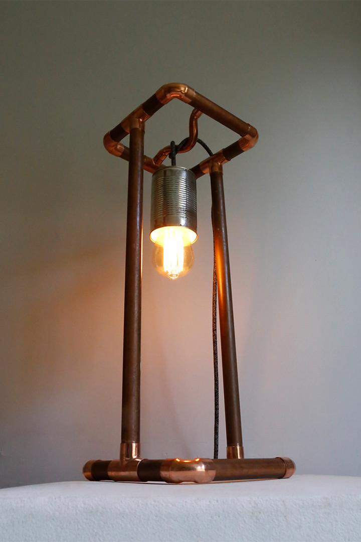 Tower desk lamp