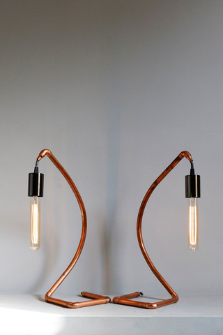 A pair of Signet Lamps