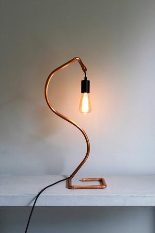 Swan Lamp (right hand facing)
