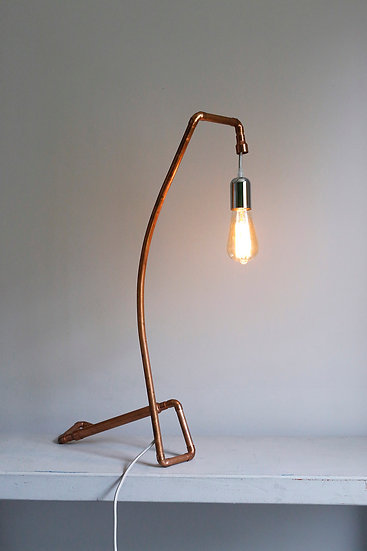 'Defy' table lamp / one of a kind