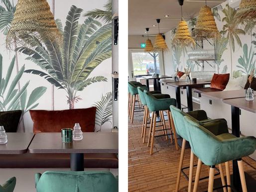 "Inredningsprojekt: Våra elever Marlene & Linda inreder beachrestaurangen ""Siluett by the sea"""