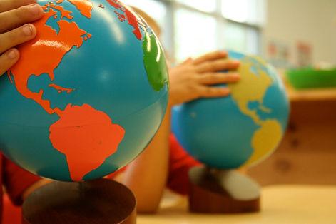 Montessori globes