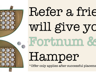 Refer a Friend and receive a Fortum & Mason Hamper!