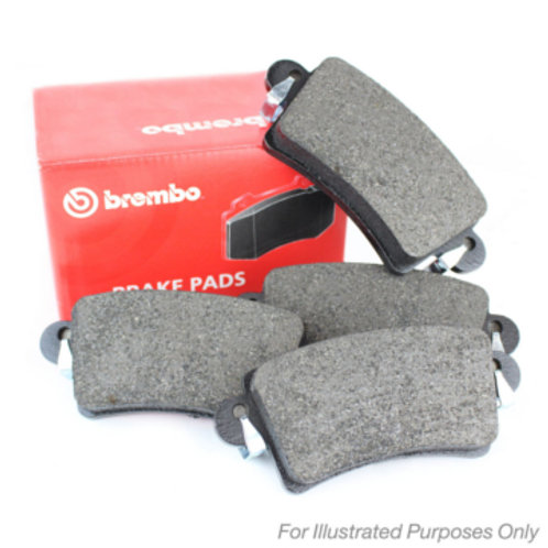 Brake pads for cars. Manufactured by Brembo. Part Number P36020X. Fits Peugeot 208 GTi