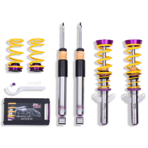 KW Coilover Variant 3 inox Clio RS MK4 200 - RS Trophy 220