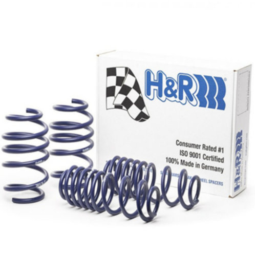 Car Lowering Suspension Springs. Brand H&R. Fits Renault Clio RS.