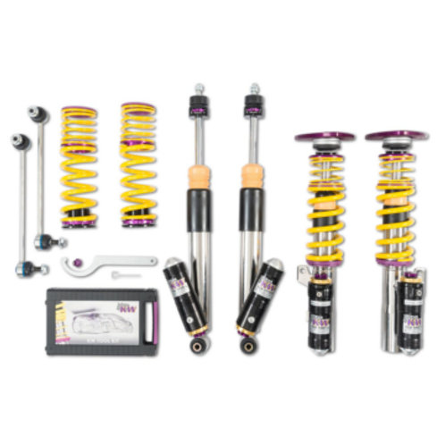 KW Coilover kit Clubsport 3-way incl. top mounts for Audi S3