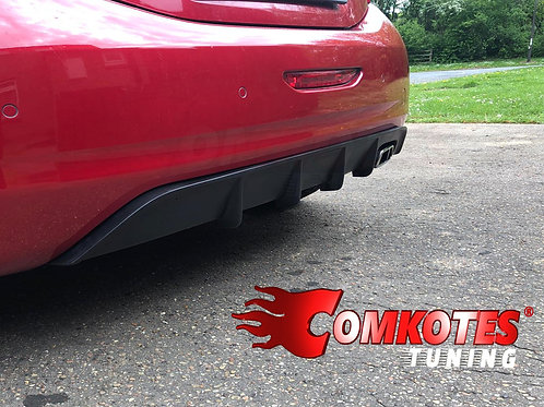 208 GTi Rear Diffuser with TUV