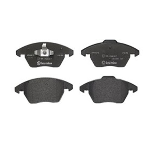 208 GTi brake pads for Peugeot cars. Part Number P61076. Fits Front, brand is Brembo.