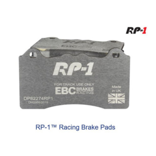 EBC Racing RP-1 Track and Race Brake Pads to fit Front VW Polo Gti 1.8 L (6C)