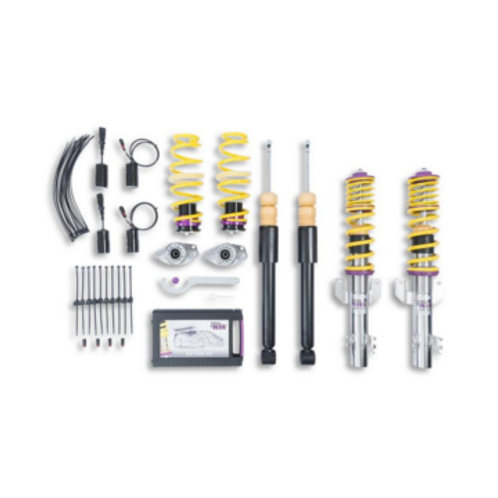 KW Coilover kit Variant 1 inox ( incl. deactivation for electronic damper) Polo