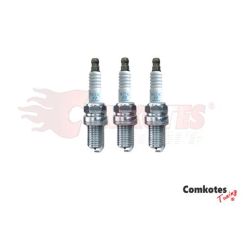 NGK Laser Iridium Spark Plugs (Pack of 3) Peugeot 208 MKII EAT8