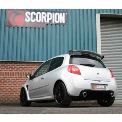 Clio RS MK3 Exhaust caback system. Manufacture by Scorpion. Part Number SRN023.