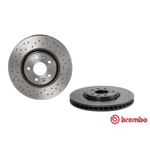 Brembo Xtra Front Brake Discs for Clio RS MK4 Espace Scenic Megane Talisman