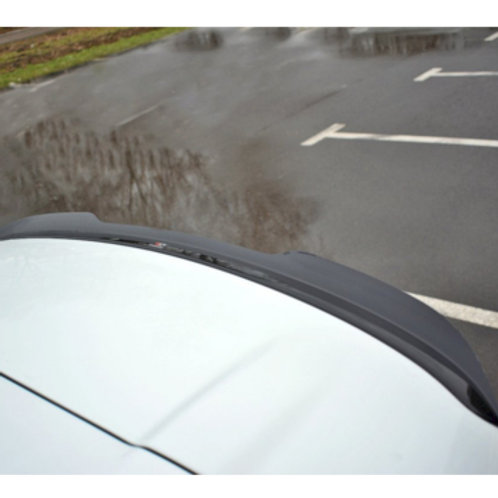 Rear Spoiler Wing Cap Extension RENAULT CLIO MK4 RS (2013-2019) by Maxton Design