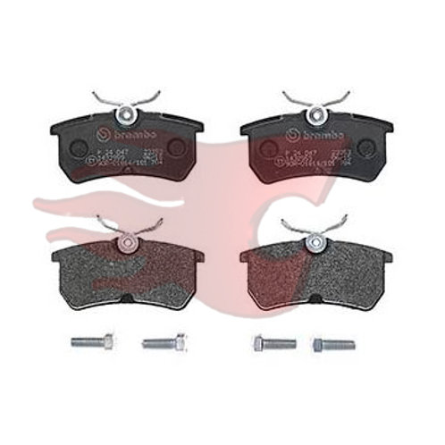 Brembo brake pads for cars,Part Number P 2 4 0 4 7. Fits Ford Fiesta ST Mark 7, 7.5.