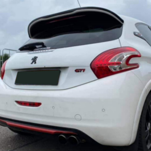 208 gti rear wing. Car styling parts.