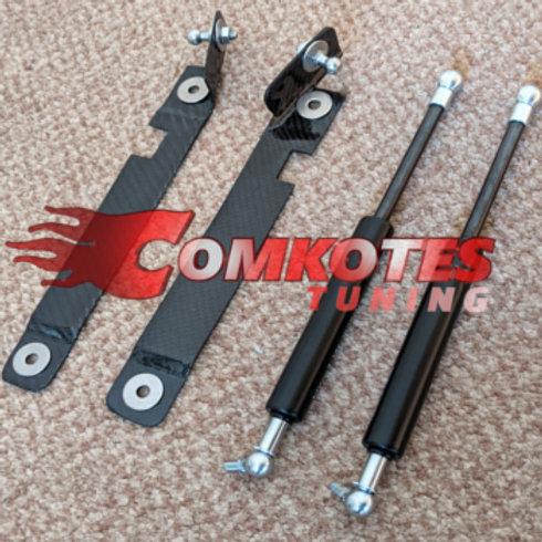 Car Bonnet Lifters. Gas Strut Kit. For Peugeot 208. GTI