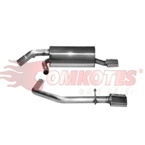 Duel Exit Rear Muffler (For 208 Gti)