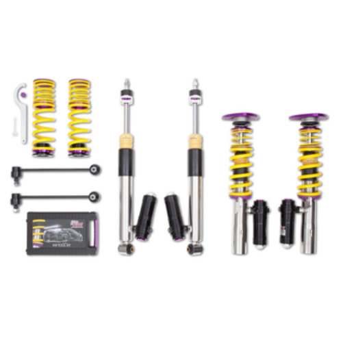 KW Coilover kit Clubsport 2-way incl. FA top mounts for Audi S3