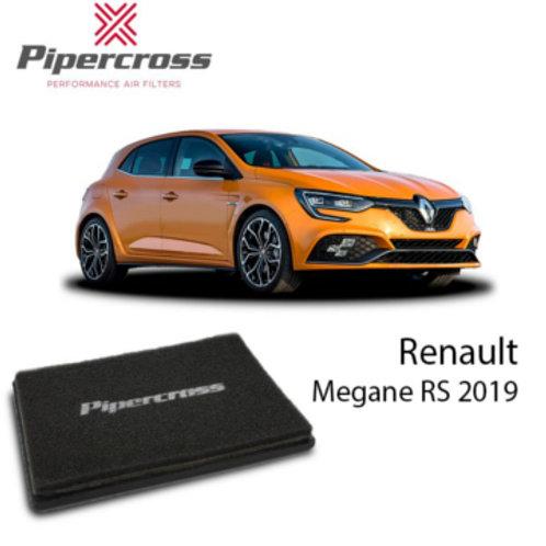 Car air filter. Pipercross Brand, Part Number PP2005. Fits Renault Megane RS
