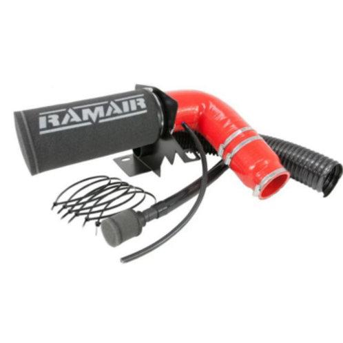 Ramair Air Filter Induction Intake Kit for PEUGEOT 208 MK2 1.2L  EAT 8 (RED)