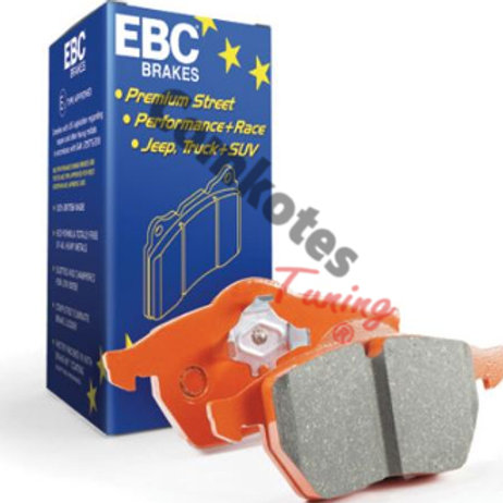 Car brake pads, EBC Orangestuff, Trackday,Part Number DP92145