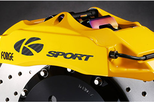 K-Sport 6 Pot Caliper Brake System Fixed Rotor 330mmx32mm Disc