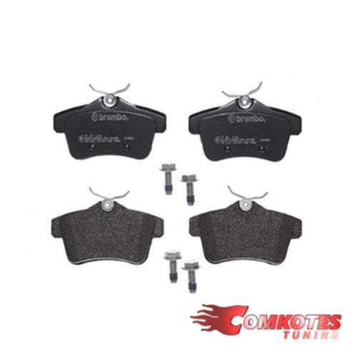 Car brake pads.Fits Citroen DS4, C4, DS5, Peugeot 3008 & 5008. For rear brake. Brembo brakes.