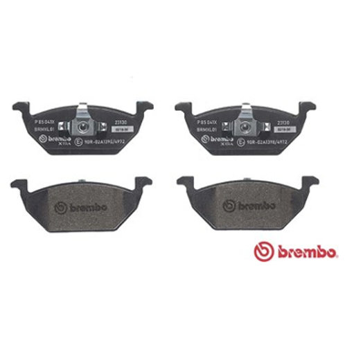 Car beakes pads. Manufactured by Brembo extra. Part Number P 8 5 0 4 1 X. Fits VW Polo 1.8 Litre GTi