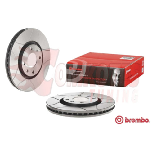 Car Brake Disc. Brand Brembo. Fits Citroen Berlingo, C3, C4, C5, DS3,DS4,DS5,Aircross. 283mm Diameter.Part Number 09961975.