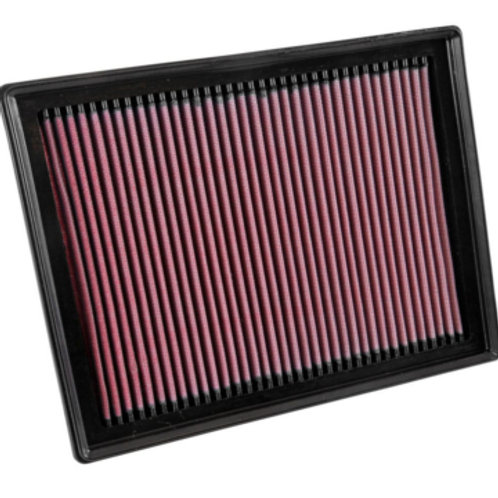 Car air filter manufactured by K&N.Part Number 33-3035. Fits Volkswagon Polo 1.8 GTI.
