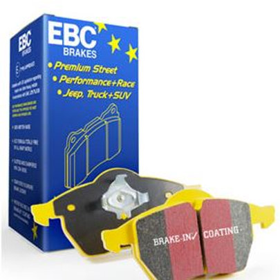 Brake Pads, for street and track, manufactured by EBC. Yellowstuff Part Number DP42021/2R
