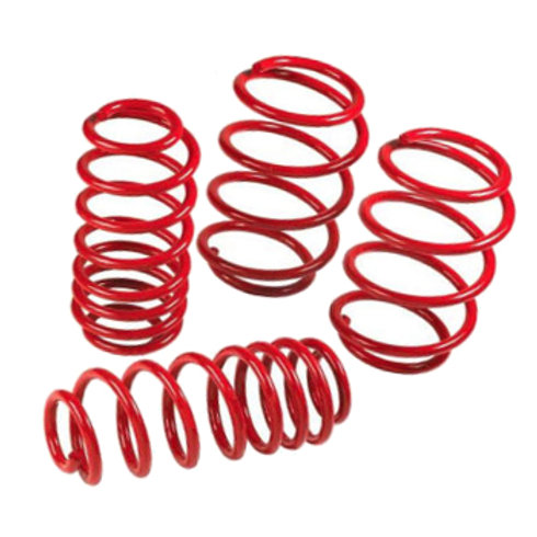 Car suspension lowering springs for the Renault Clio MK3.