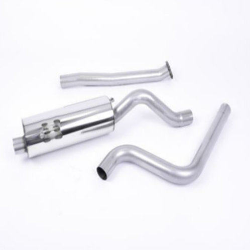 Ford Fiesta ST180 Milltek Cat-back Non-resonated Titanium Tips