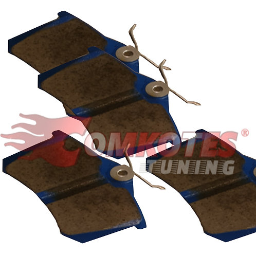 Bluestuff Trackday Brake Pad Set to fit Rear Megane RS 1.8L MK4