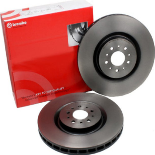 30th and 208 GTi by Peugeot Sport Brembo 323mm Front Brake Disc (Pair)