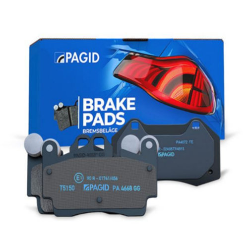 Pagid Rear Brake Pads for Renault Clio RS MK4