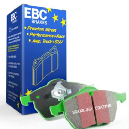 EBC Greenstuff Brake Pad Set to fit Rear VW Polo Gti 1.8 L (6C)