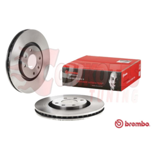 Citroen DS5 DS4 HDi Blue Brake Discs Fits Front 304mm BREMBO. Car brake discs. Part Number 09.A185.14 .