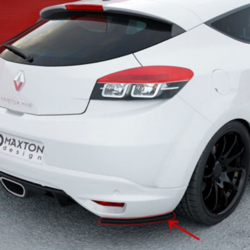 Rear Side Bumper Wing Spats Renault Megane RS MK3