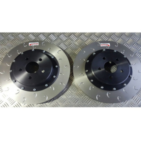 Brake Discs for Renault Megane RS. 340mm Diameter. G-Hook.