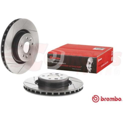 Brembo front brake discs for Renault Megane RS. Part Number 402060019R.