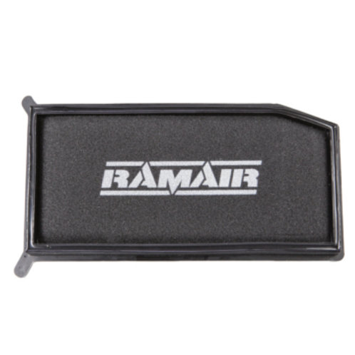 Car air filter. Brand is RAM AIR, Part Number RPF-2050. Fits Dacia Logan, Renault Clio mark 4 & capture