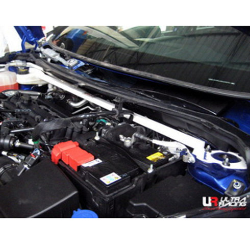 Suspension Brace for cars. Fits Ford Fiesta MK7, VII. Ultra Racing.