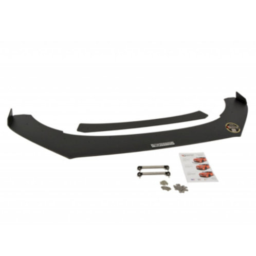 FRONT RACING SPLITTER VW POLO MK5 GTI FACELIFT (with wings) (2015-2017)