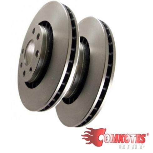 Car brake discs. Part No D1676, Diameter 258mm.