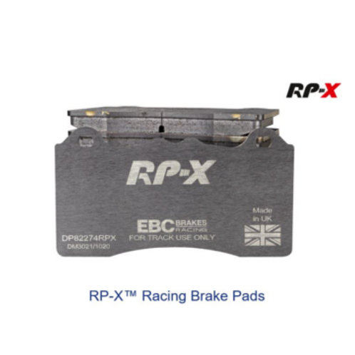 RP-X Track and Race Brake Pads to fit Front Megane RS 1.8L MK4